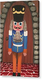 Acrylic Print featuring the painting Nutcracker Sweet by Thomas Blood