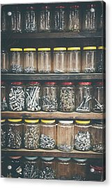 Nuts And Bolts And Bolts And Nuts Acrylic Print by Scott Norris