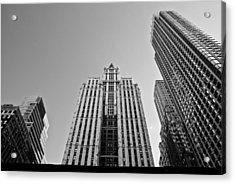 Nyc Buildings Acrylic Print by Patrick  Flynn