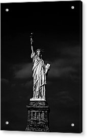 Nyc Miss Liberty Acrylic Print