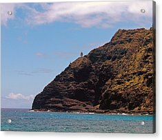 Oahu - Cliffs Of Hope Acrylic Print by Anthony Baatz