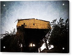 Obsolete Building Acrylic Print by Kam Chuen Dung