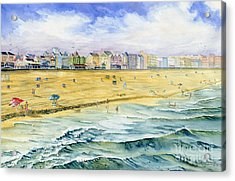 Ocean City Maryland Acrylic Print by Melly Terpening