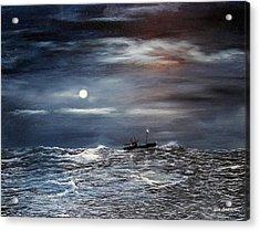 Ocean Moon Acrylic Print