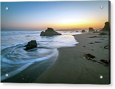 Ocean Seascape Sunset Acrylic Print