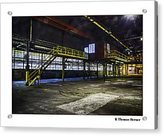 Office Acrylic Print