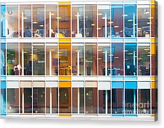 Office Windows Acrylic Print