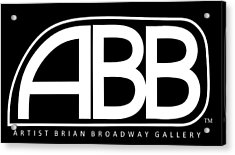 Official Abb Gallery Logo Acrylic Print by Brian Broadway
