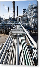 Oil Refinery Overall View Acrylic Print
