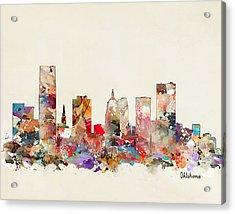 Oklahoma City Oklahoma Acrylic Print by Bri B