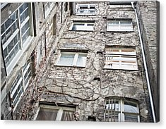 Old Building Acrylic Print by Tom Gowanlock
