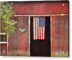 Old Glory Acrylic Print by JAMART Photography