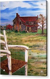 Old Home  Acrylic Print by Penny Everhart