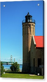 Old Mackinac Point Lighthouse Acrylic Print