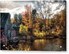 Old Mill Boards Acrylic Print