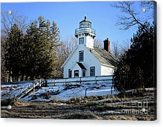Old Mission Lighthouse Acrylic Print