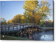 Old North Bridge Acrylic Print by Brian Jannsen