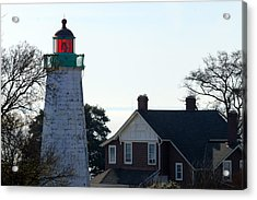 Old Point Comfort Lighthouse Acrylic Print