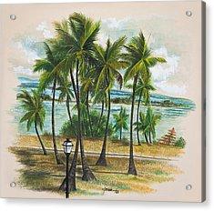Old San Juan - Morro Acrylic Print