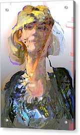 Olga Acrylic Print by Noredin Morgan