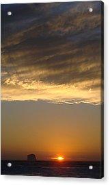 Olympic Sunset  Acrylic Print by Ty Nichols