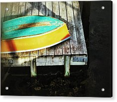 Acrylic Print featuring the photograph On Deck by Olivier Calas