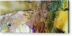 Acrylic Print featuring the painting On Gossamer Wing by Mary Sullivan