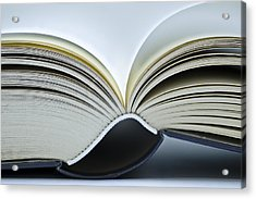 Open Book Acrylic Print
