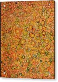 Orange Craze Acrylic Print