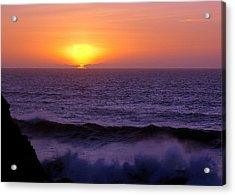 Oregon Sunset Acrylic Print by Scott Gould