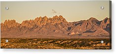 Organ Mountain Sunset Acrylic Print