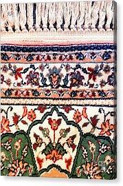 Oriental Rug Detail Acrylic Print