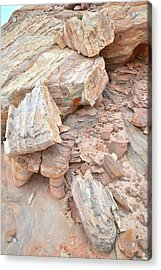 Acrylic Print featuring the photograph Ornate Sandstone In Valley Of Fire by Ray Mathis