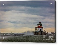 Oswego Harbor West Pierhead Light Acrylic Print