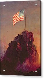 Our Flag Acrylic Print