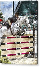 Over Easy  Acrylic Print by Carrie Cranwill
