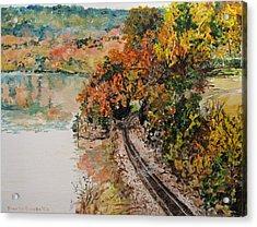 Ozark Fall Acrylic Print