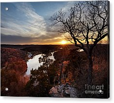 Acrylic Print featuring the photograph Ozark Sunset by Dennis Hedberg