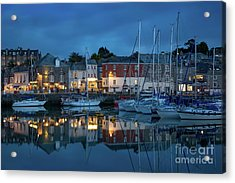 Acrylic Print featuring the photograph Padstow Evening by Brian Jannsen