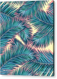 Palm Trees  Acrylic Print by Mark Ashkenazi