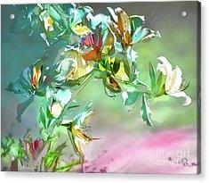Panoplia Floral Acrylic Print by Alfonso Garcia
