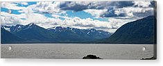 Panorama Of Beluga Point Acrylic Print