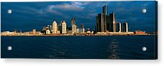Panoramic Sunrise View Of Renaissance Acrylic Print