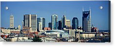 Panoramic View Of Nashville, Tennessee Acrylic Print by Panoramic Images