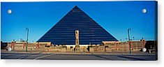 Panoramic View Of The Pyramid Sports Acrylic Print by Panoramic Images