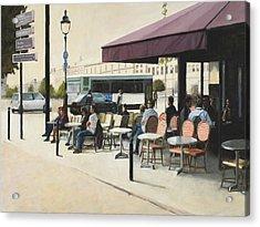 Paris Cafe Acrylic Print
