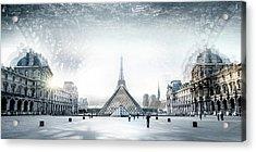 Paris Acrylic Print by Ivan Vukelic