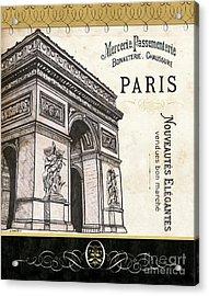 Paris Ooh La La 2 Acrylic Print