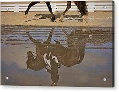 Pas De Deux Reflection Acrylic Print by JAMART Photography