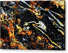 Acrylic Print featuring the photograph Patterns In Stone - 189 by Paul W Faust - Impressions of Light